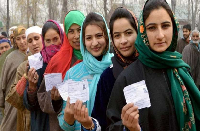 Voting underway for 6th phase of J&K panchayat polls