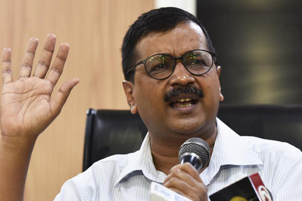Police booked unstable man for attacking Kejriwal