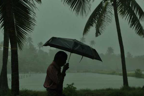 Heavy rainfall: Orange alert in seven districts