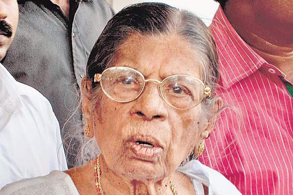 Kerala Assembly declares holiday on K.R. Gowri's 100th birthday