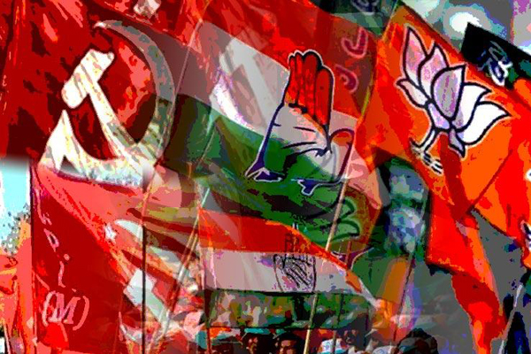 Kerala polling on April 23; Left steals march over Congress, BJP on campaign trail