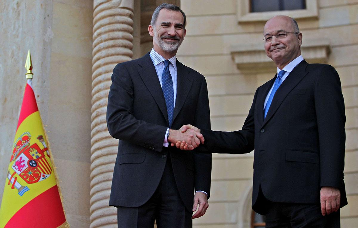 King of Spain visits Iraq, first in 40 years: diplomat