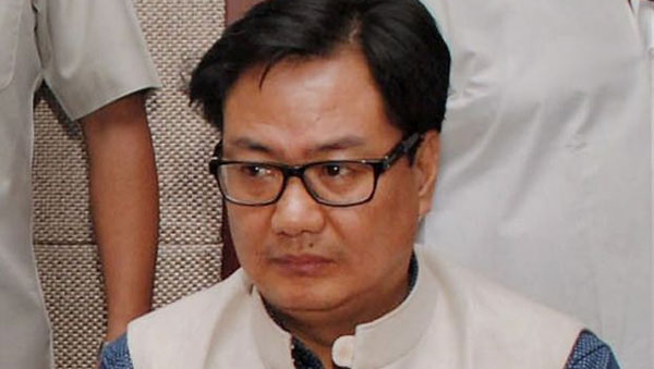 Naqvis statement on cow slaughter not palatable: Rijiju