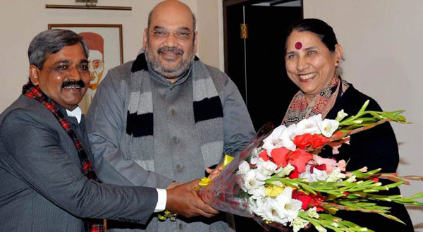 Congress Krishna Tirath joins BJP