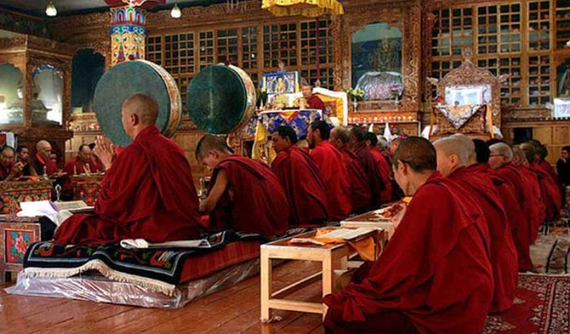 Is Ladakh part of Buddhist ring encircling China?