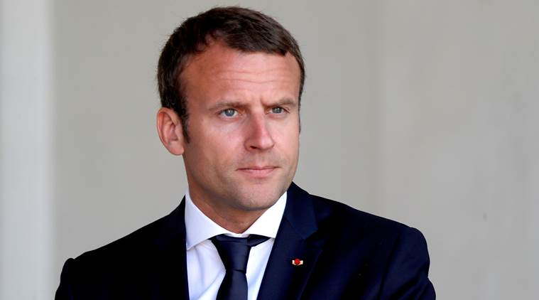 Macron calls on Iran to immediately reduce enriched uranium reserves