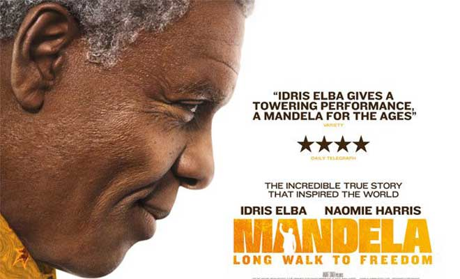 Mandelas death comes a week after release of film on his life