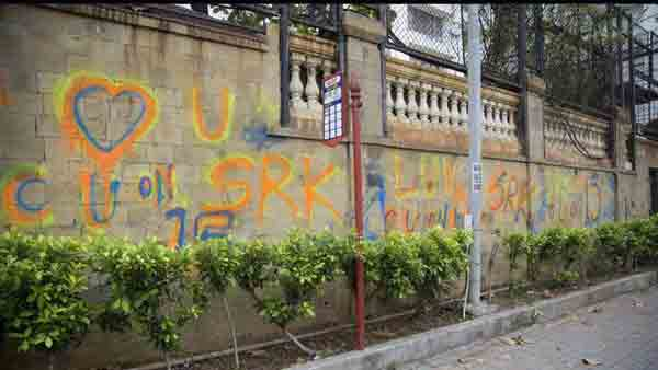 SRKs graffiti puzzle solved with Fan teaser