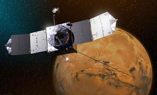 NASA spacecraft enters Mars orbit to explore atmosphere