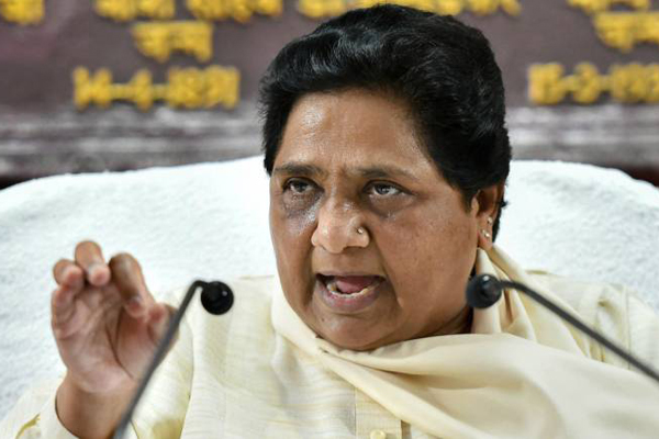 Mayawati slams BJP, cautions EC ahead of next phase