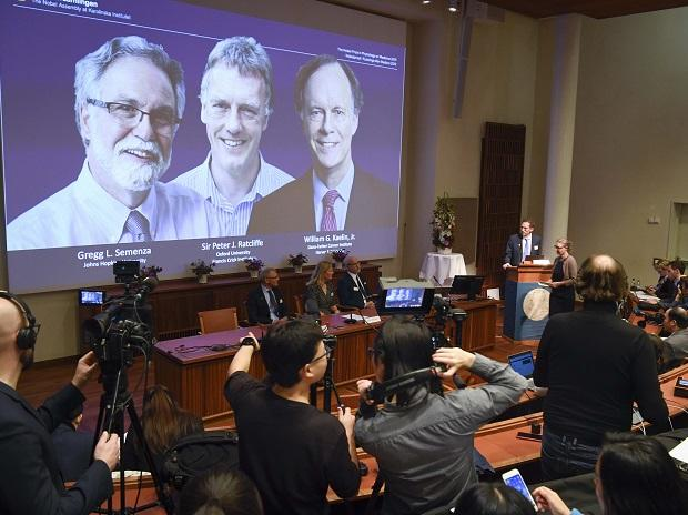 2019 Nobel for Medicine awarded to 3 scientists for work on cell research