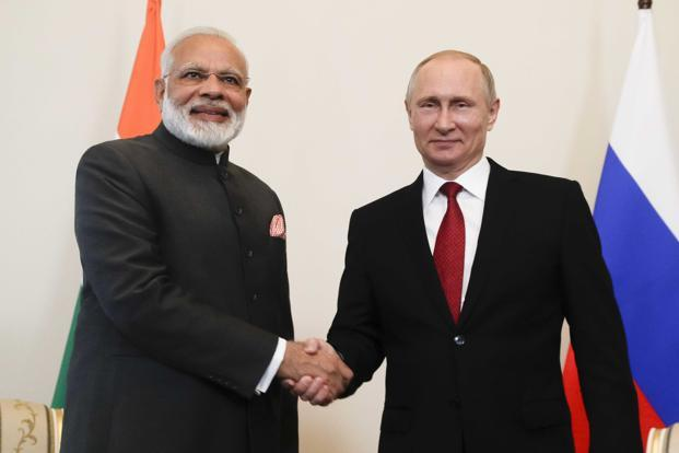 PM Modi meets President Putin; discusses issues of mutual interests