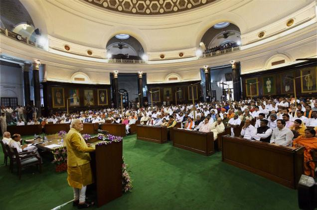President appoints Modi PM, swearing-in May 26