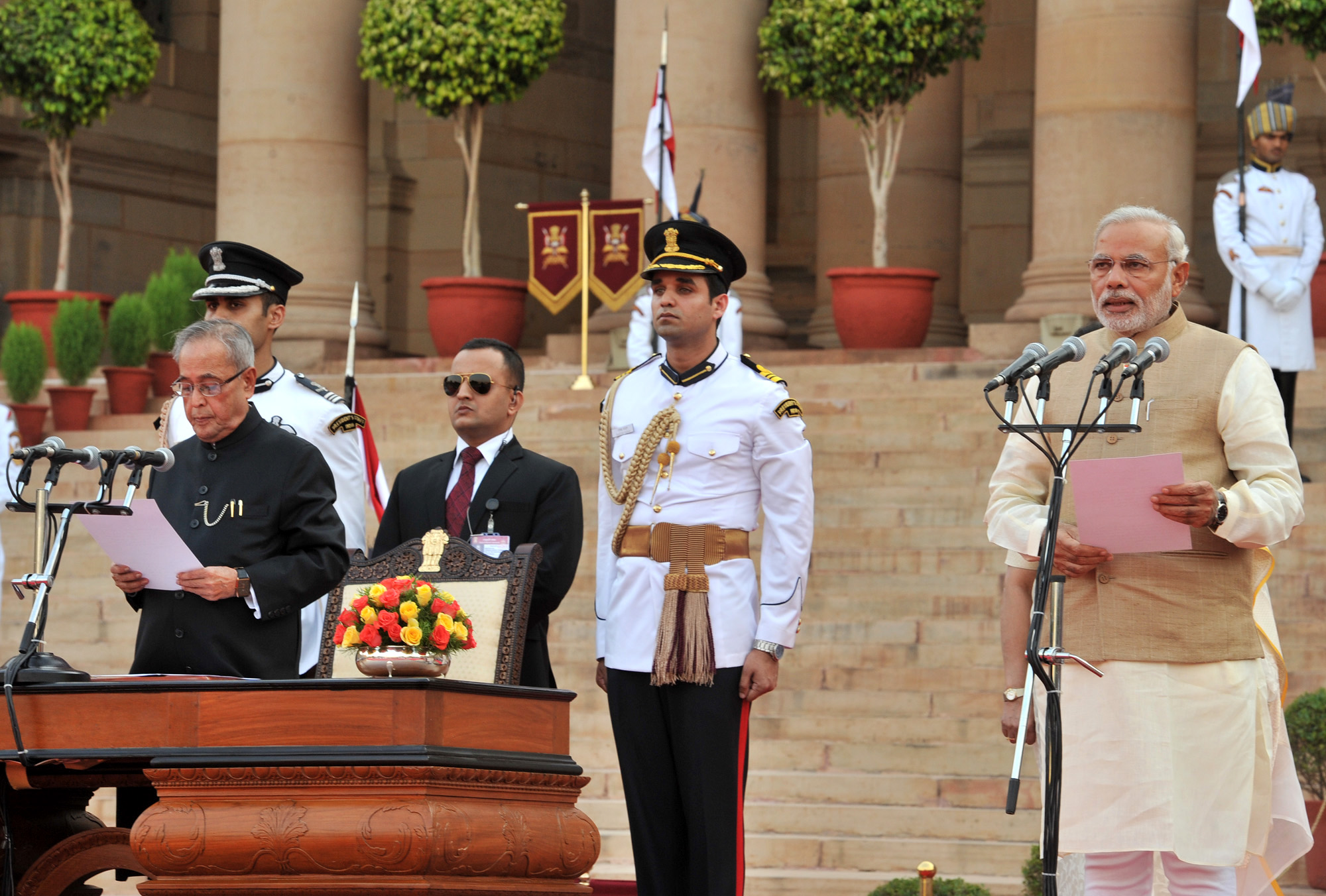 Modis mega swearing-in ceremony likely on May 30