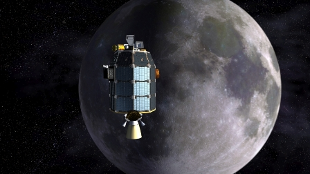 NASA crashed moon mission at 5,700 km per hour!
