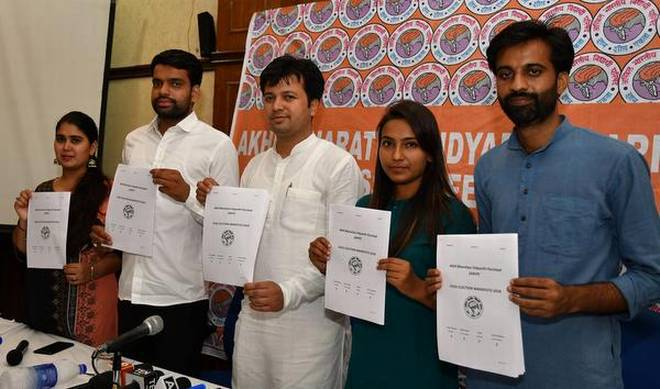NSUI claims DUSU chiefs mark-sheet fake, ABVP refutes charge