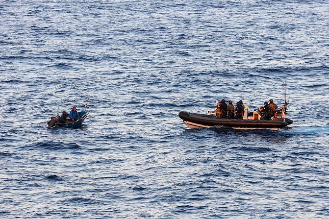 Navy rescues five fishermen off north Kerala coast