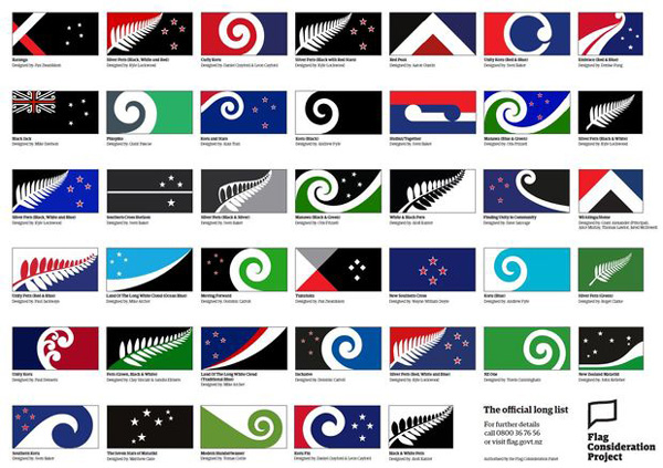 New Zealand parliament passes law to change flag