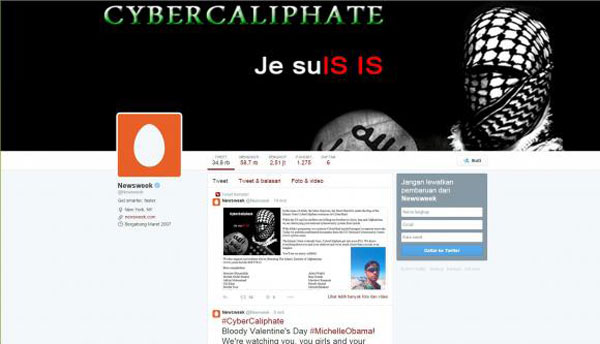 IS hacks Newsweeks Twitter account, threatens Obamas