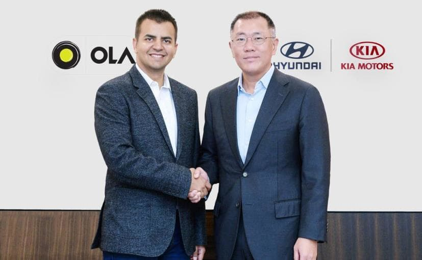 Hyundai, Kia invest USD 300 mn in Ola for EVs, smart mobility solutions