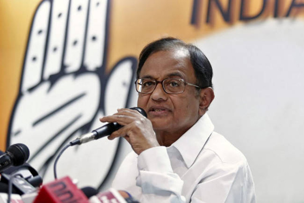 Chidambaram terms PM Kisan scheme as bribe for votes