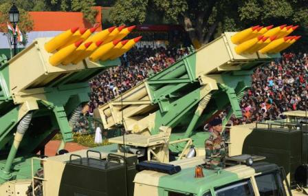 India successfully test-fires Pinaka rockets