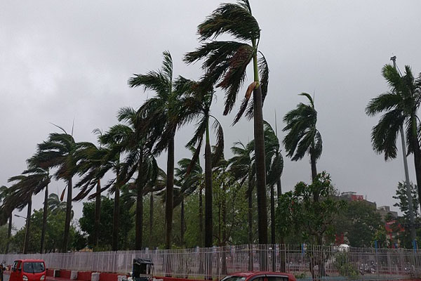 Lakshadweep battered by heavy rain, strong winds as cyclone Maha landfall