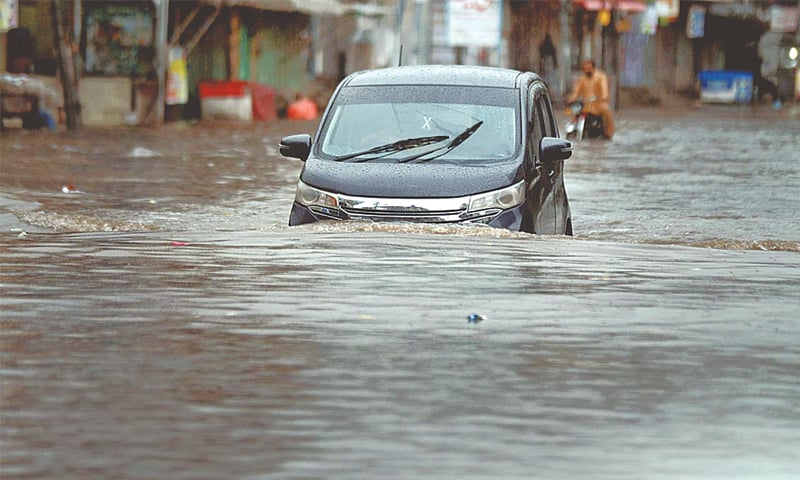 Pakistan rains death toll reaches 27