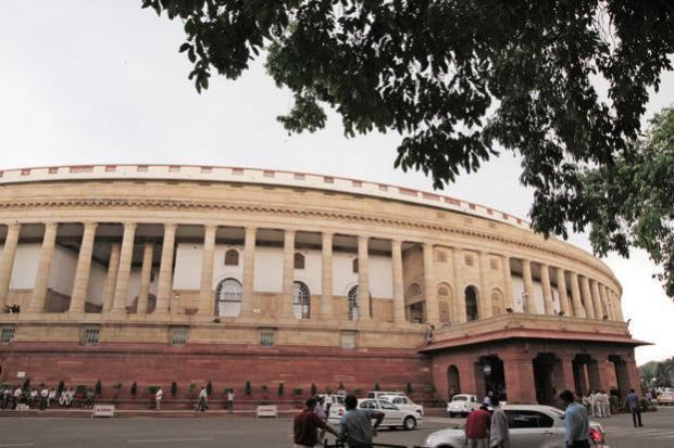 Lok Sabha adjourned till Thursday