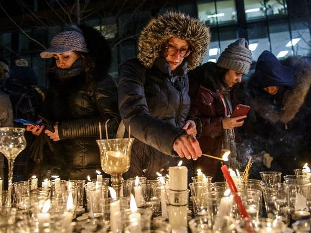 Canada holds candle-light vigil in memory of Ukraine airline crash victims