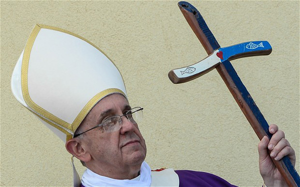 Church should apologise to gays: Pope Francis