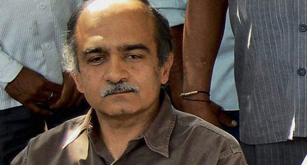 Kejriwal wants to be with yes-men: Bhushan