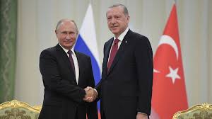 Putin visits Turkey to talk Libya, Syria and gas