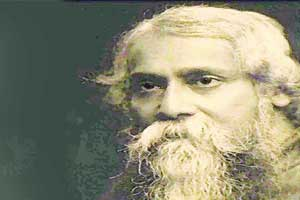 Tagore, the fashion designer
