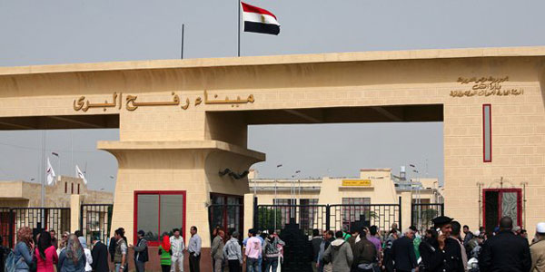 Egypt extends opening of Rafah border crossing
