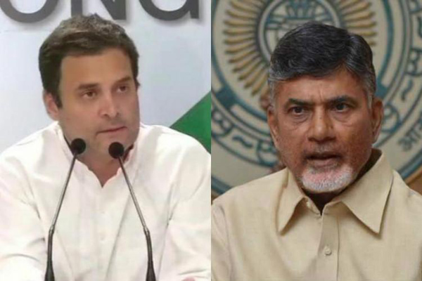 TDP chief to discuss opposition unity with Rahul on Thursday