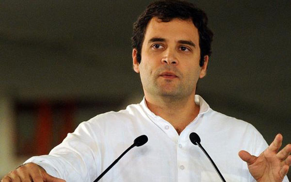 PM playing drums in Japan, people batting problems here: Rahul