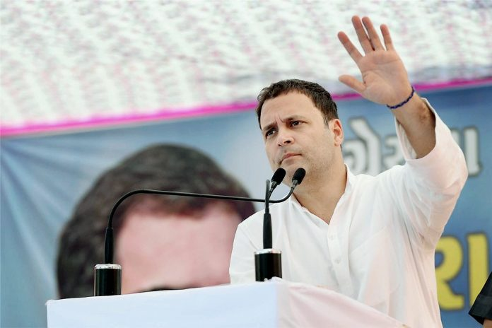 Rahul takes on Rajnath, questions govt on Chinese intrusion