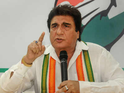 'Don't trouble Hanuman too much, your Lanka will be on fire': Raj Babbar to BJP