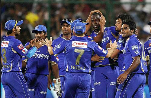 Rajasthan Royals beat Kings XI by eight wickets