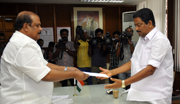 P C George MLA submits resignation letter