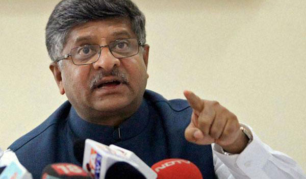 Government welcomes SC judgment on Section 66A: Prasad