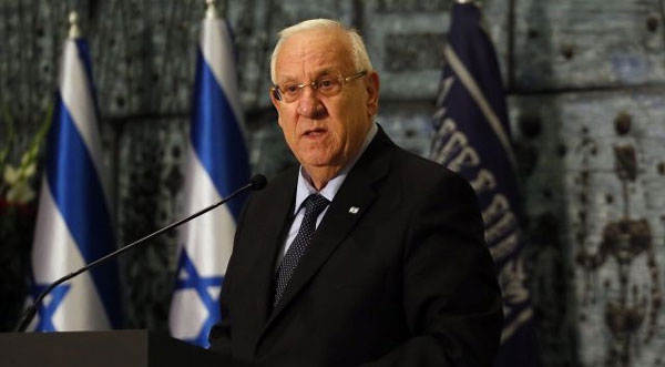 Israeli president slams decision to withhold Palestinian tax revenue