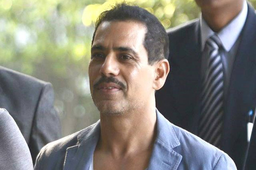 ED questions Vadra in money laundering case for second day