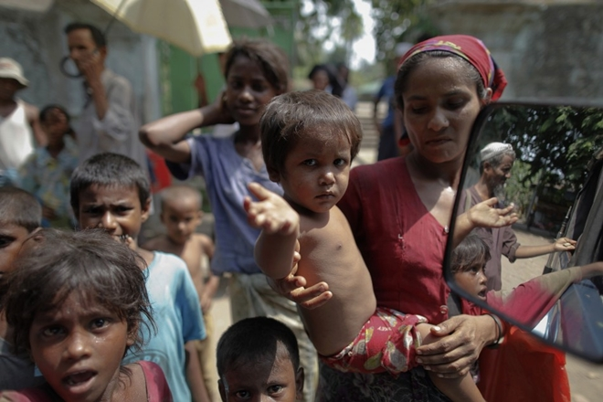 Who will see the tears of Rohingyas?