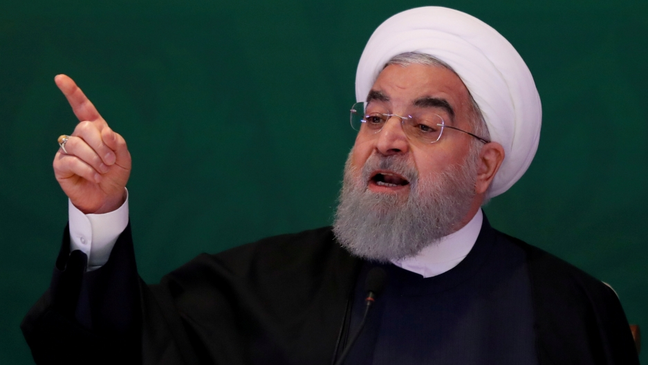 Irans Rouhani says innocent protesters should be freed