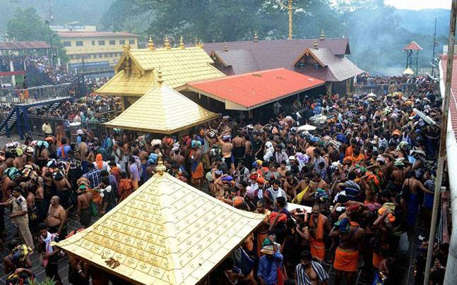 Sabarimala to open today:  speculations on political moves