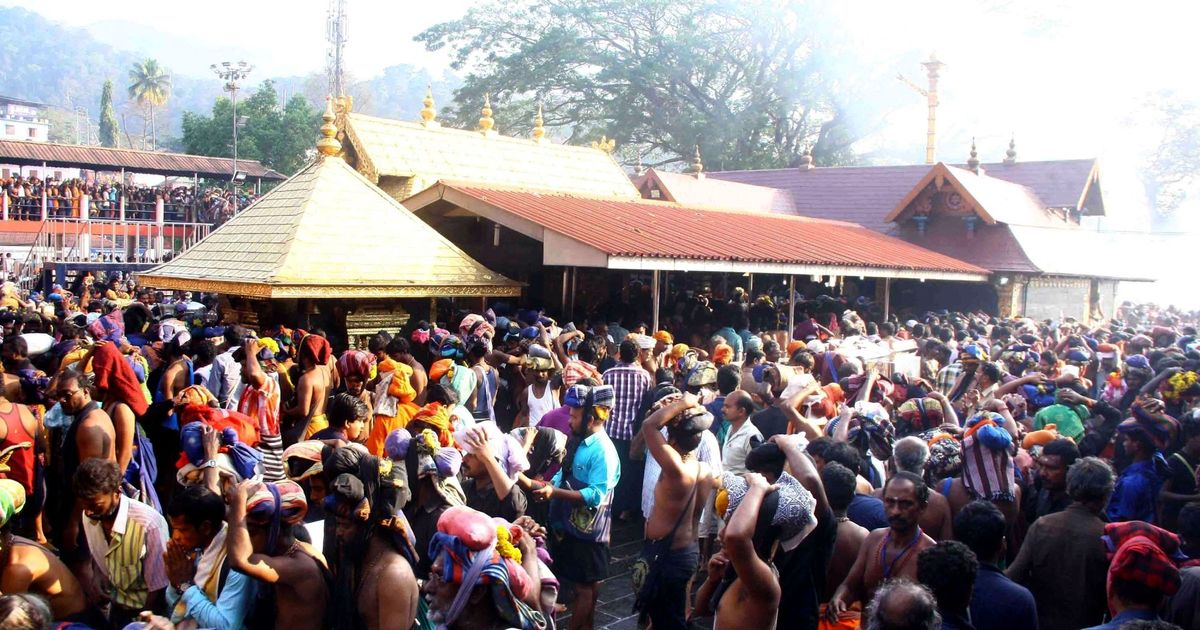 Sabarimala temple shut after two women pray at shrine