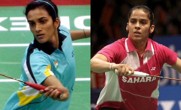 Saina victorious against Sindhu; Hotshots win tie