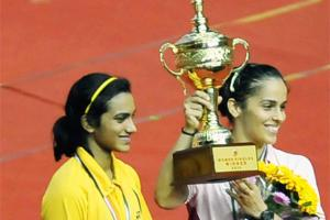 Saina beats Sindhu to take India GP Gold final